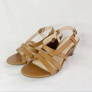 Franco Fortini Women's Strappy Low Heels Sz 9